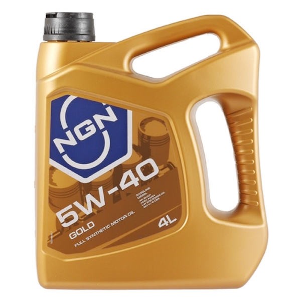 NGN 5W-40 GOLD SNCF A3B4 4л